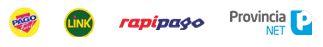 Pago Fácil, Link, Rapipago, Provincia NEt